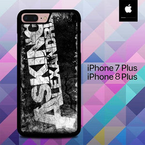 Asking Alexandria Graffiti O3377 custodia cover iPhone 7 Plus , iPhone 8 Plus