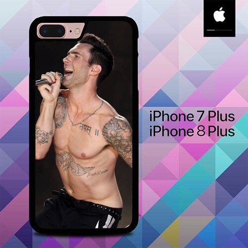 Stunning 4K Adam Levine O6524 custodia cover iPhone 7 Plus , iPhone 8 Plus