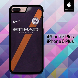 Jersey Mancaster City O6551 custodia cover iPhone 7 Plus , iPhone 8 Plus