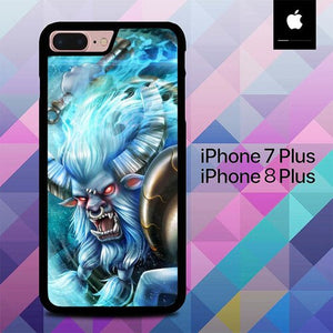 Spirit Breaker Dota 2 O6556 custodia cover iPhone 7 Plus , iPhone 8 Plus