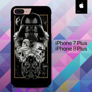 Star Wars Movie O6698 custodia cover iPhone 7 Plus , iPhone 8 Plus