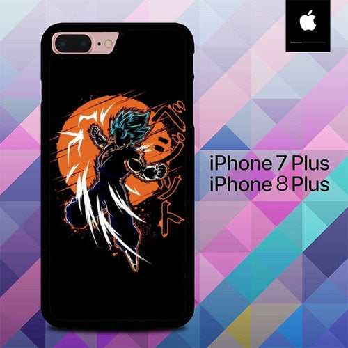 Dragon Ball Z O7135 custodia cover iPhone 7 Plus , iPhone 8 Plus