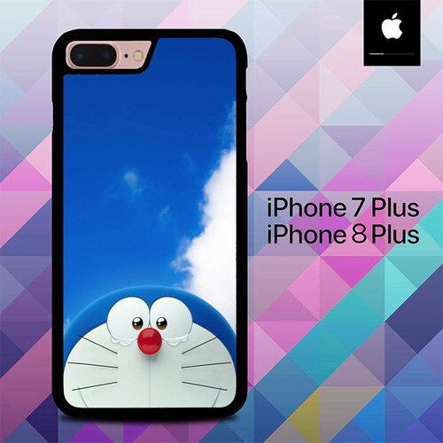 Doraemon Stand By O7512 custodia cover iPhone 7 Plus , iPhone 8 Plus