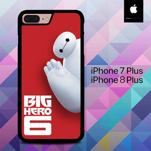 Big Hero 6 O0482 custodia cover iPhone 7 Plus , iPhone 8 Plus