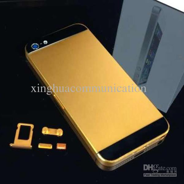 back cover iphone 5s gold