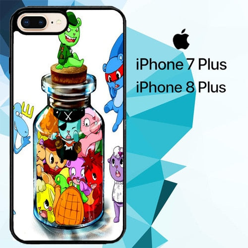 happy tree friends Z0902 custodia cover iPhone 7 Plus , iPhone 8 Plus
