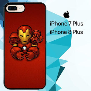 iron man minimalist Z0941 custodia cover iPhone 7 Plus , iPhone 8 Plus