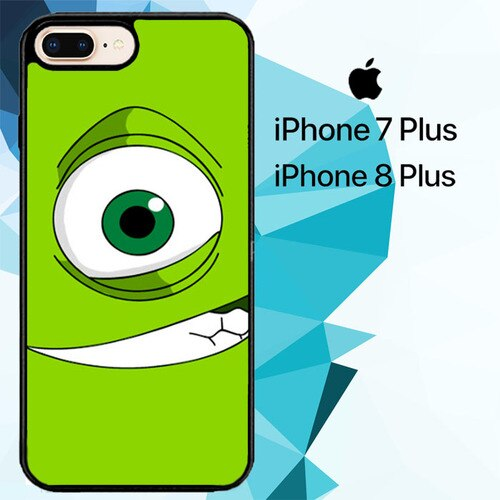 Mike Wazowski Face Z1112 custodia cover iPhone 7 Plus , iPhone 8 Plus