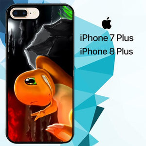 Charmeleon Pokemon Z1196 custodia cover iPhone 7 Plus , iPhone 8 Plus