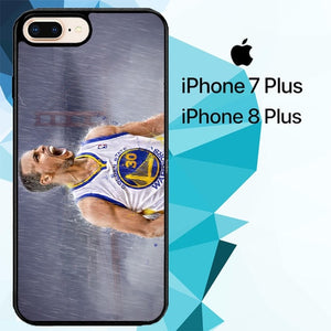 Stephen Curry pose Z4251 custodia cover iPhone 7 Plus , iPhone 8 Plus