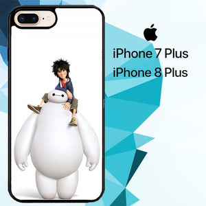 Big hero 6 Z4429 custodia cover iPhone 7 Plus , iPhone 8 Plus
