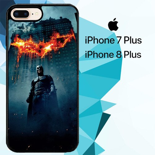 batman the dark knight rises Z5149 custodia cover iPhone 7 Plus , iPhone 8 Plus