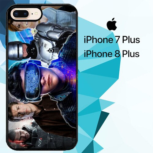 ready player one Z7127 custodia cover iPhone 7 Plus , iPhone 8 Plus