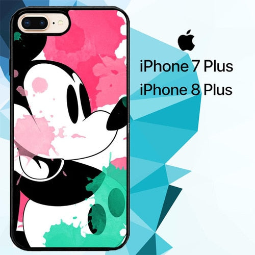 mickey mouse Z4909 custodia cover iPhone 7 Plus , iPhone 8 Plus