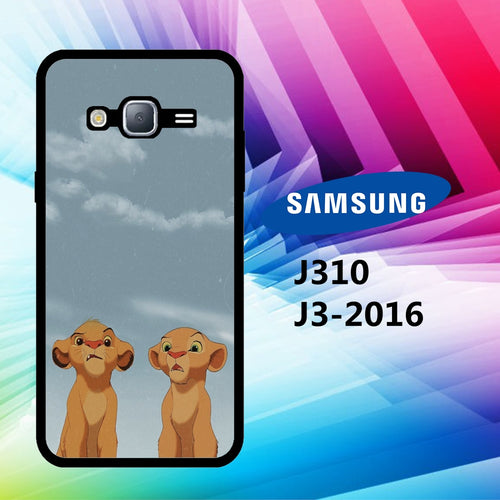 custodia cover J3 2016 J310 J3 2017 J330 J5 2016 J510 J5 2017 J530 case S2021 the lion king wallpaper 209zO6