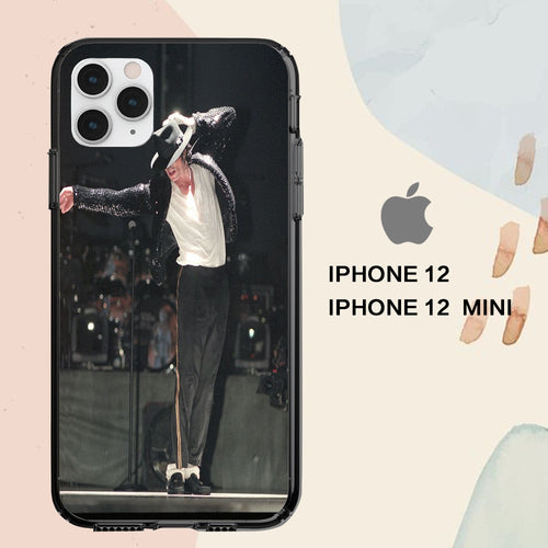 custodia cover iPhone 12 mini pro max case S2050 michael jackson wallpaper billie jean 218bY5