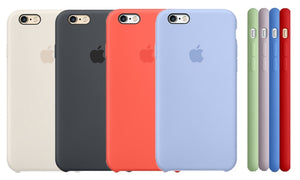 cover in silicone per iphone 6s plus