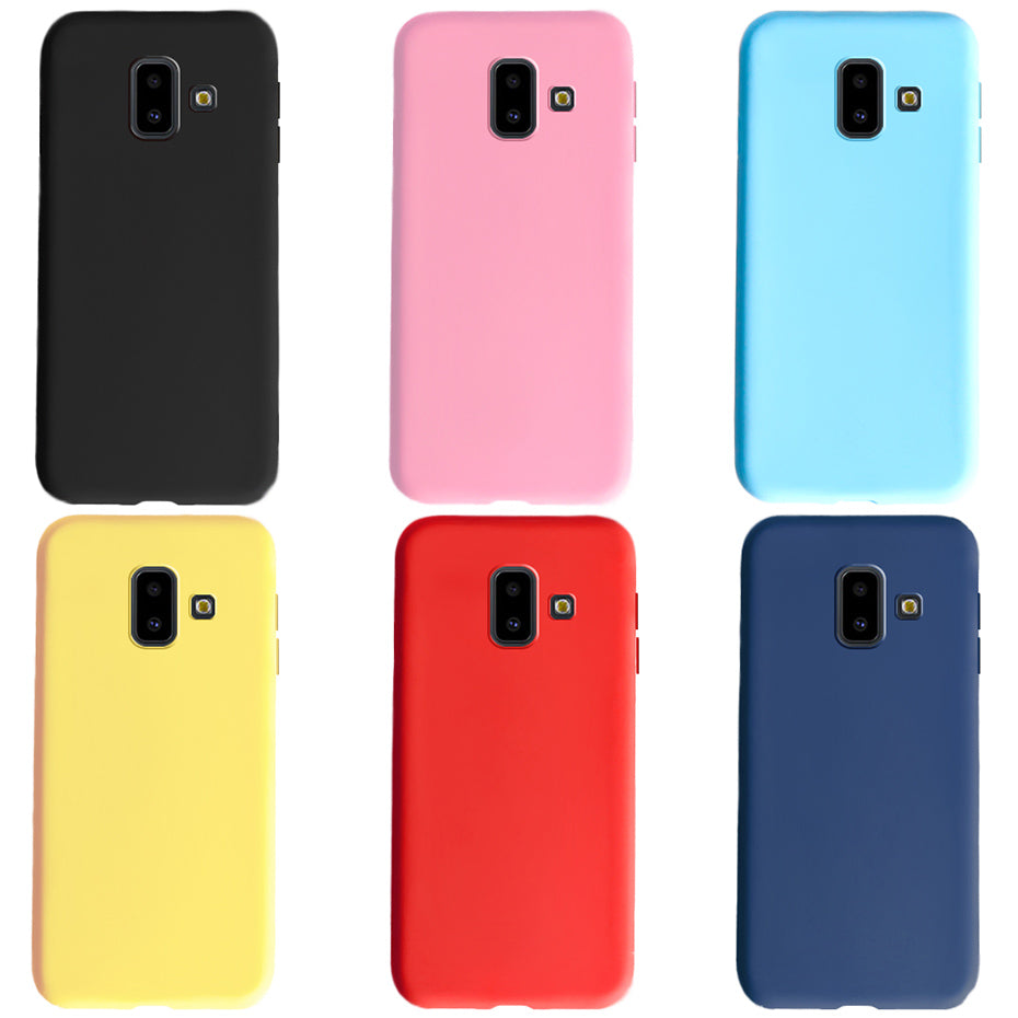 cover samsung j6 2018 silicone - flemt