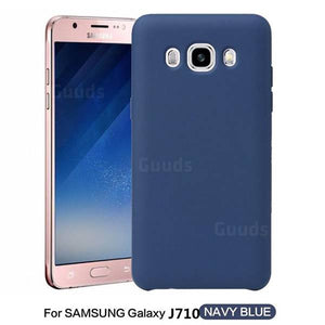cover samsung j7 2016 silicone - flemt