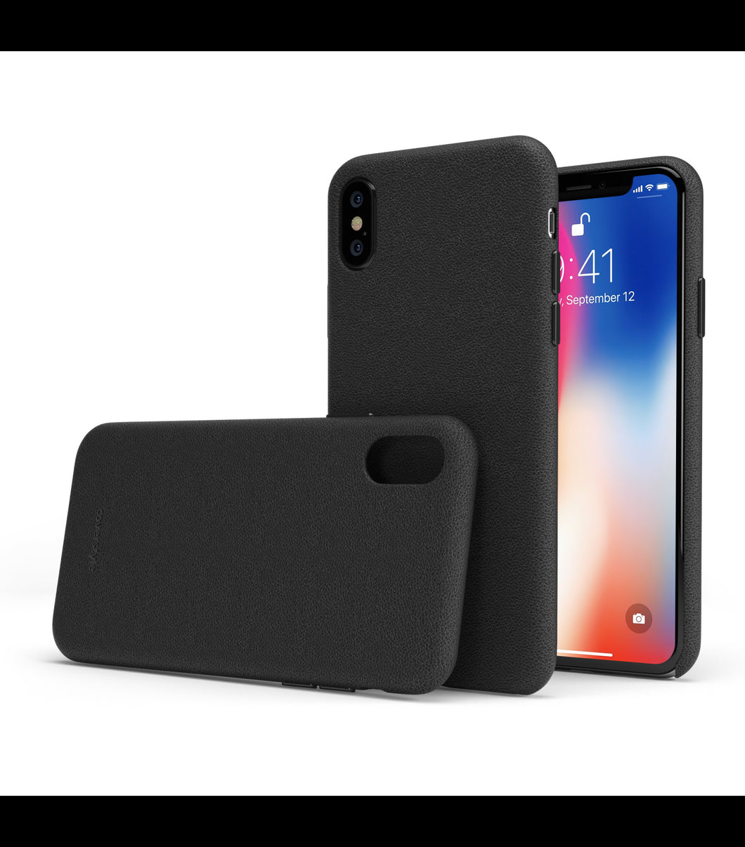 cover iphone x in pelle
