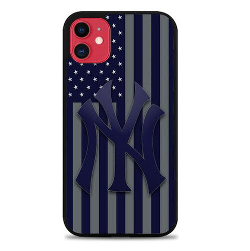 Custodia Cover iphone 11 pro max New York Yankees X9278 Case