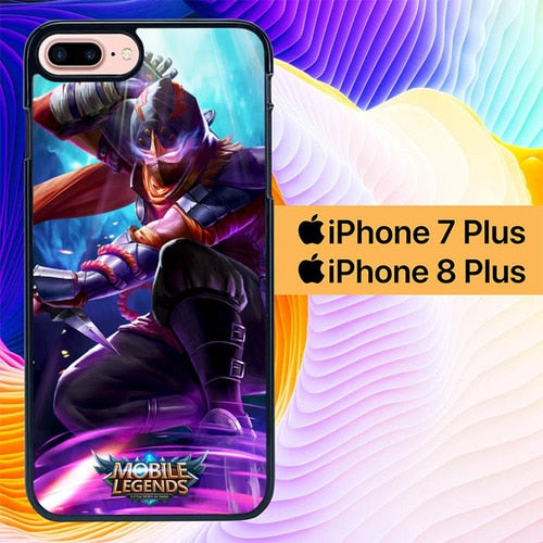 Mobile Legends Character L0092 custodia cover iPhone 7 Plus , iPhone 8 Plus