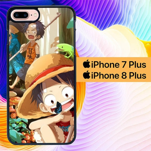 One Piece Luffy Have Fun L0230 custodia cover iPhone 7 Plus , iPhone 8 Plus