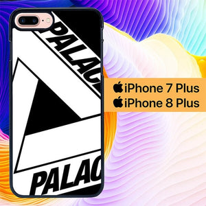 Palace Black And White Wallpaper L0547 custodia cover iPhone 7 Plus , iPhone 8 Plus