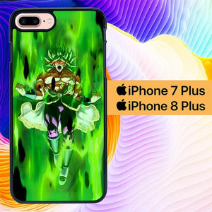 Dragon Ball Super Saiyan Broly L3008 custodia cover iPhone 7 Plus , iPhone 8 Plus