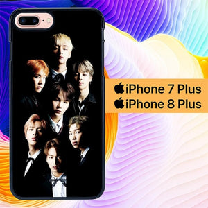 BTS Wallpaper L3086 custodia cover iPhone 7 Plus , iPhone 8 Plus