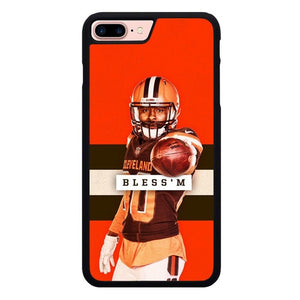 Cleveland Brown Bless'm L3170 custodia cover iPhone 7 Plus , iPhone 8 Plus