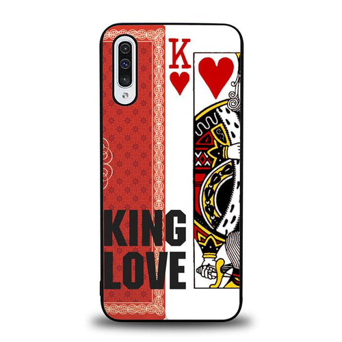 coque custodia cover fundas hoesjes j3 J5 J6 s20 s10 s9 s8 s7 s6 s5 plus edge B32121 PKER CARD KING LOVE J0017 Samsung Galaxy A50 Case