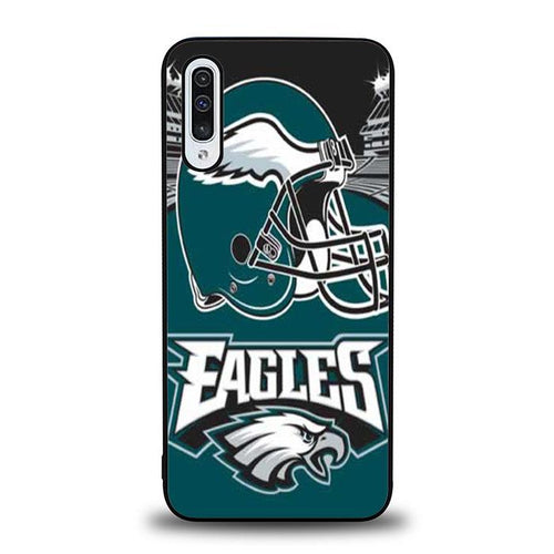 coque custodia cover fundas hoesjes j3 J5 J6 s20 s10 s9 s8 s7 s6 s5 plus edge B31917 Philadelphia Eagles NFL J0373 Samsung Galaxy A50 Case