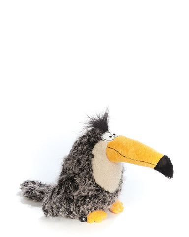 Music Was My First Love - designer plush toy toucan - Beasts by sigikid - 38403