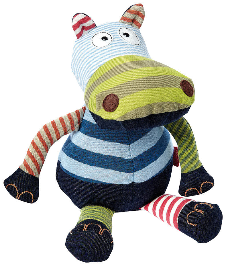 Striped Hippo, Sweety Plush Toys by sigikid - 38465