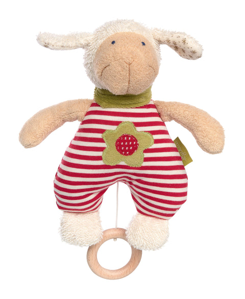 Organic Sheep Musical Toy