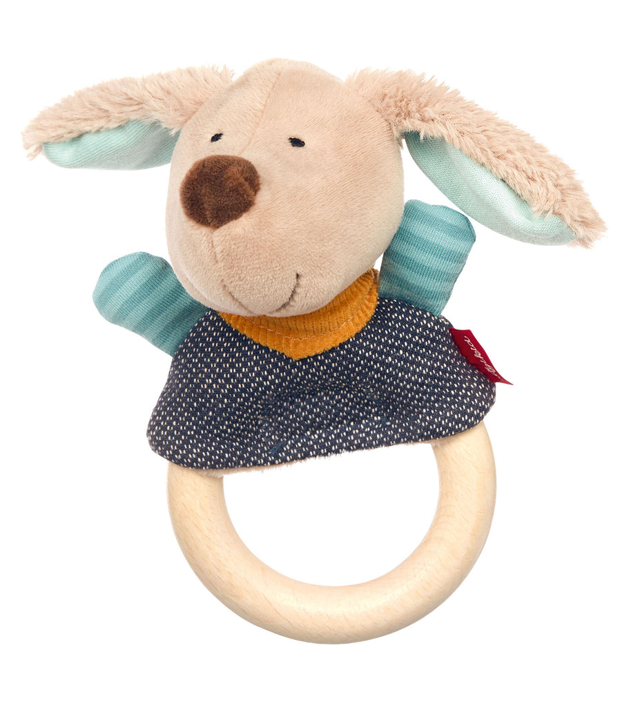 Hygge Hug Finger Puppet with Wooden Grasp Ring