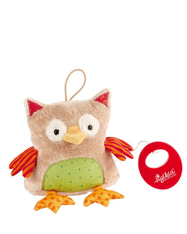 Musical Owl Baby Musical Plush Toy by sigikid - 40780
