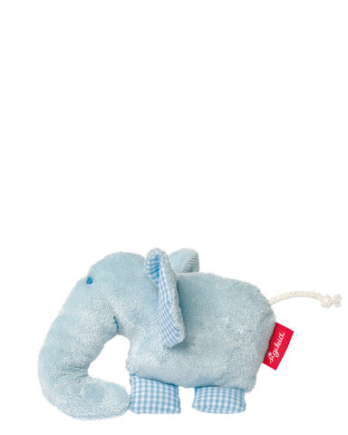 Organic Elephant Squeaker with Foil Baby Toy by sigikid - 40953