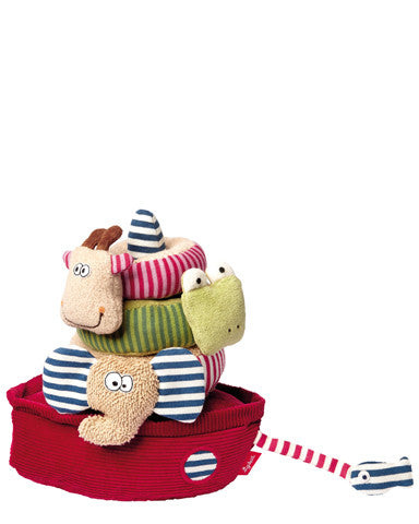 Organic Ark Stacking Plush Toys by sigikid - 41039
