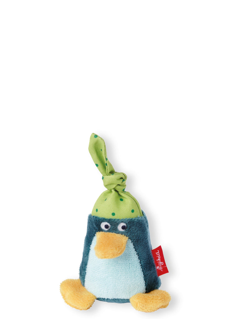 Penguin Rattle, green