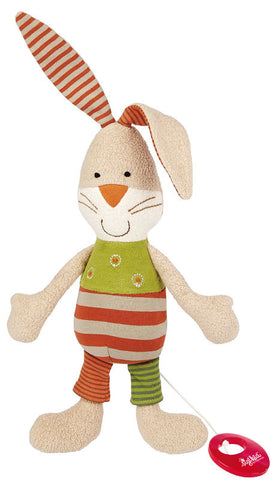 Organic Bunny Musical Toy