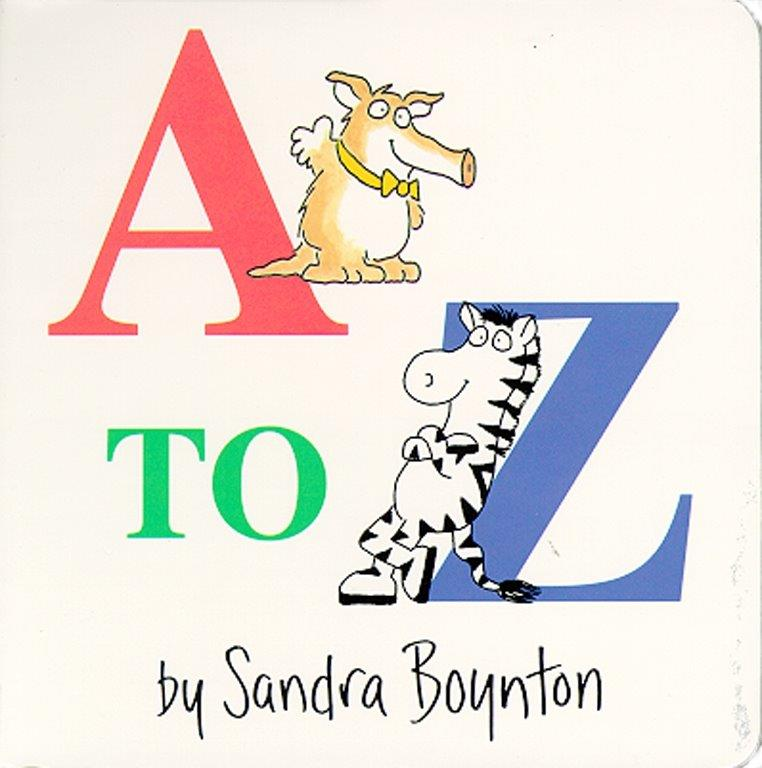 Sandra Boynton's Board Book: A to Z