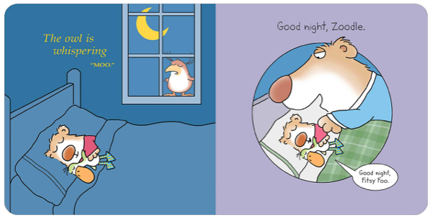 Silly Lullaby - Board Book by Sandra Boynton