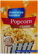AMERICAN GARDEN Popcorn - Buy American Garden Microwave Popcorn Cheese 273GM Online in India.