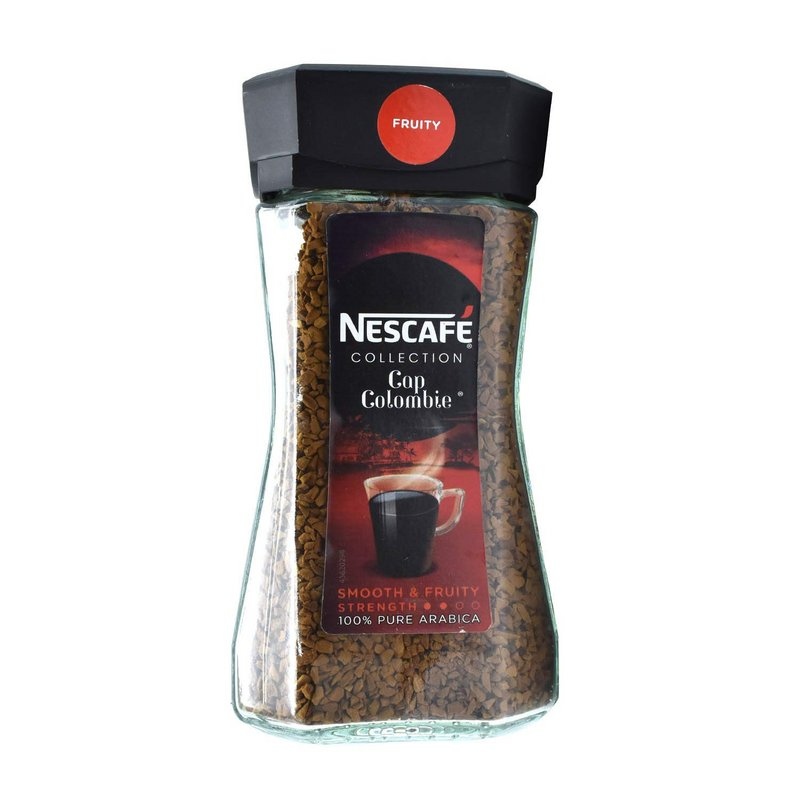NESCAFE Coffee - Buy Nescafe Cap Colombia Instant Coffee Jar 100GM Online in India.