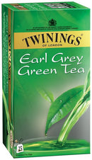 TWININGS Tea - Buy Twinings Green Tea and Earl Grey Tea 25 Bags Online in India.