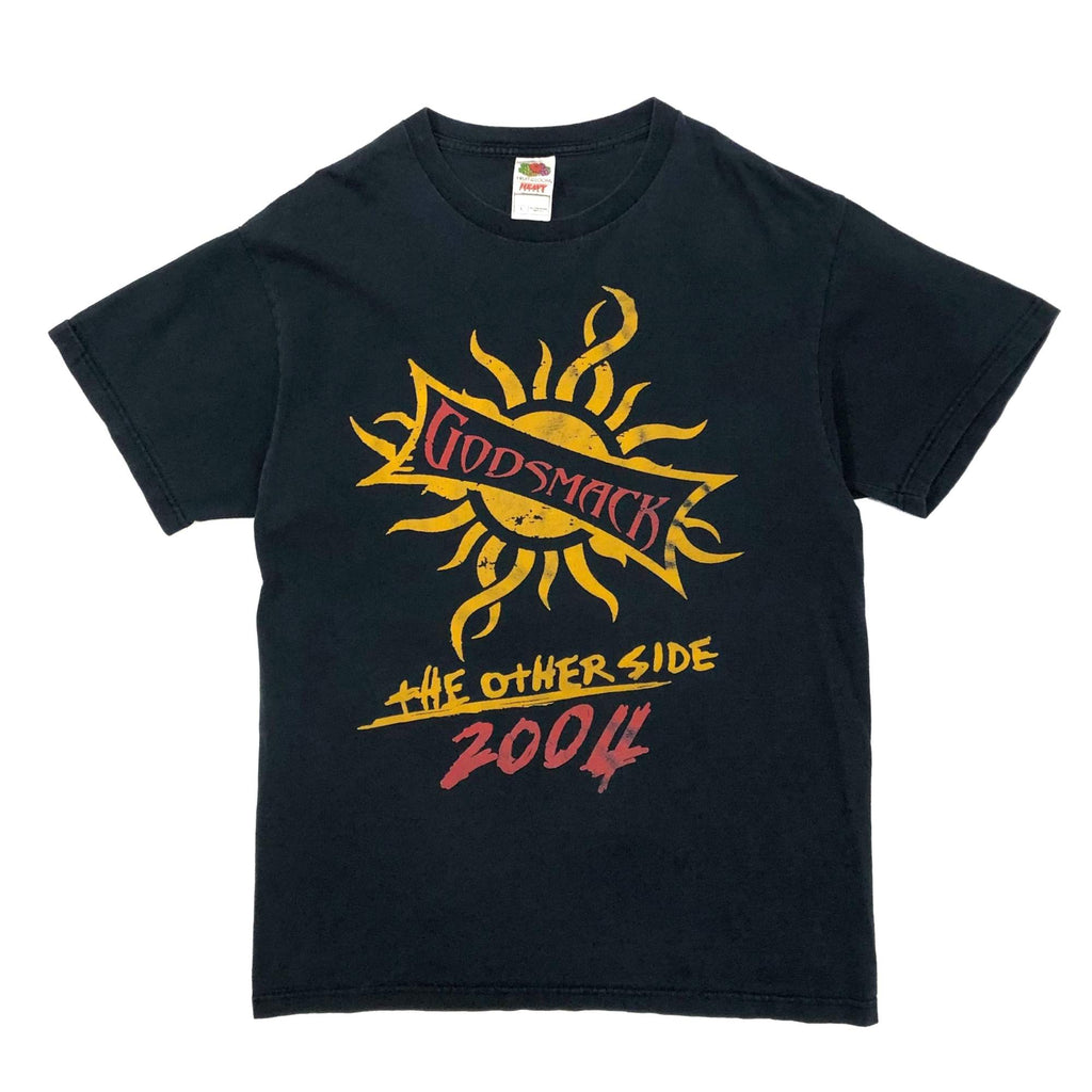 """made in USA"" FRUIT OF THE LOOM  ""GODSMACK"" バンドプリントTシャツ"