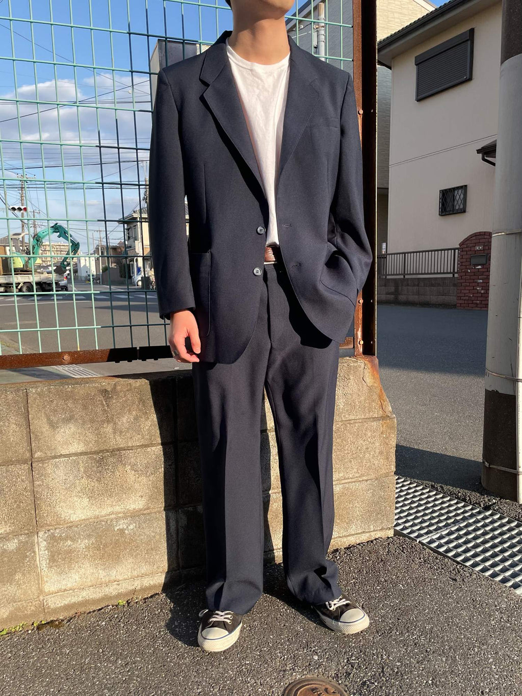 ~80s Levi's ACTION SUIT & SLACKS セットアップ
