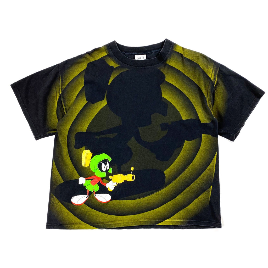 "90's Warner Bros ""Marvin the Martian"" プリントTシャツ"